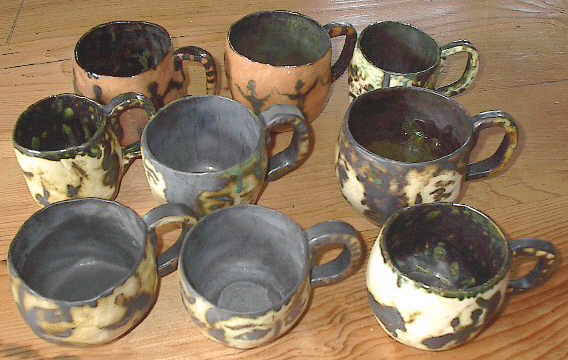 anita kaier in freiburg keramik ceramics tassen becher kr ge. Black Bedroom Furniture Sets. Home Design Ideas