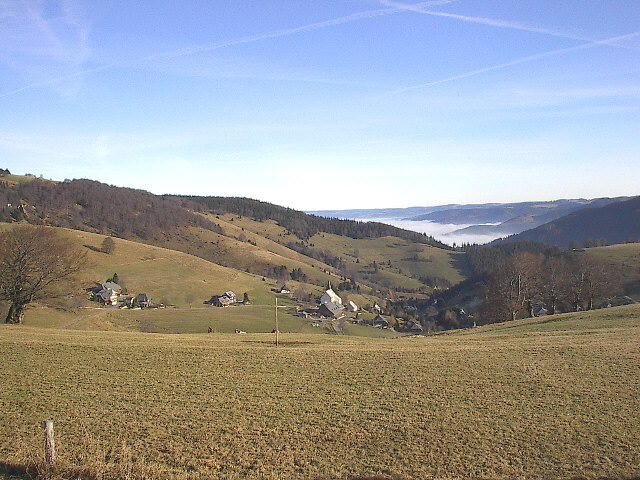 Freiburg Schwarzwaldde Schauinsland Halde Hofsgrund Erzkasten Im