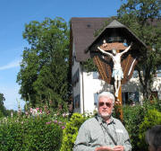 Hermann Althaus am 24.6.2007 beim Arma-Christi-Kreuz am Ubershof